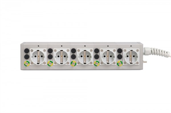 Medical 5-way socket outlet MEDX ZPA