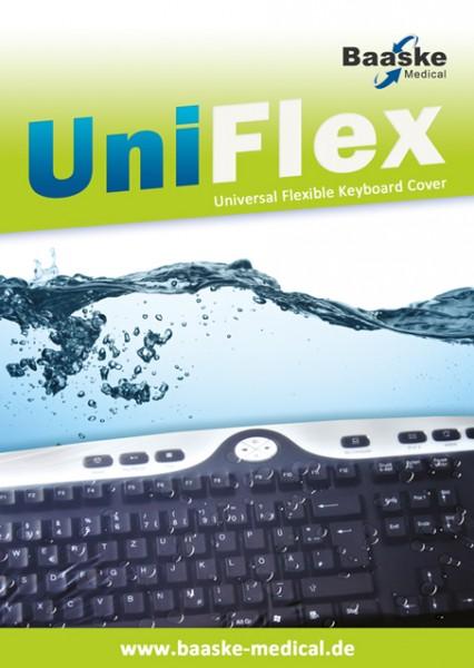 Tastaturschutzfolie Baaske PC Uni Flex