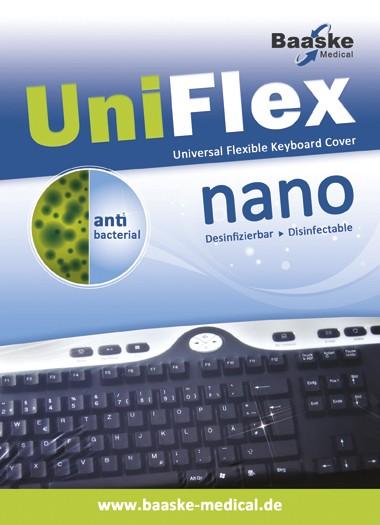 Tastaturschutz Baaske PC Uni Flex Nano