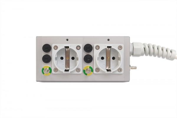 Medical 2-way socket outlet MEDX ZPA
