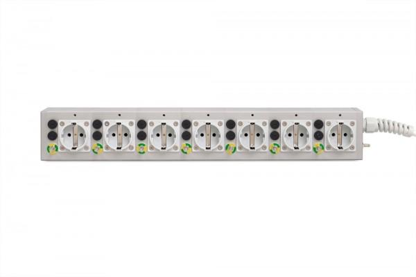Medical 7-way socket outlet MEDX ZPA