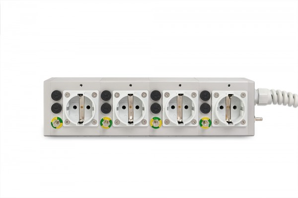 Medical 4-way socket outlet MEDX ZPA