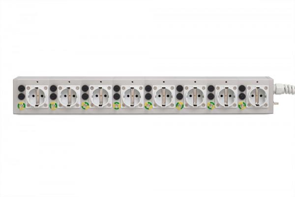 Medical 8-way multiple socket outlet MEDX ZPA