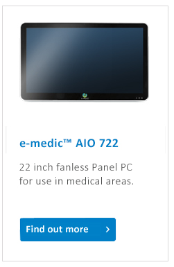 e-medic_medical_Panel_PC_622_fanless