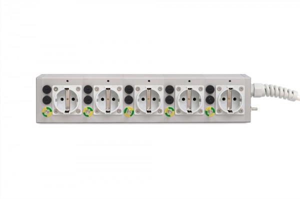Medical 5-way socket outlet MEDX ZPA
