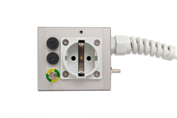 Medical 1-way socket outlet MEDX ZPA