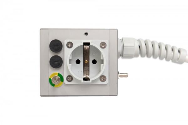 Medical 1-way socket outlet MEDX ZPA